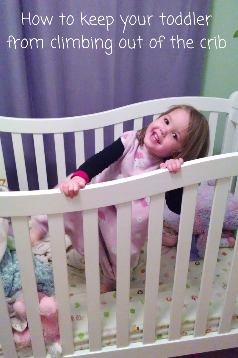 Help! My toddler is climbing out of the crib